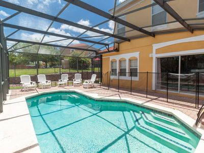 Photo for Private Pool Home with Lake Onsite and Near Disney!