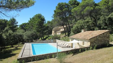 Photo for large house with pool in the luberon natural park ,House with character