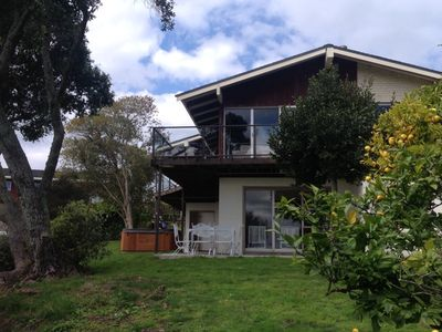 Photo for Pohutakawa House is a large family holiday home