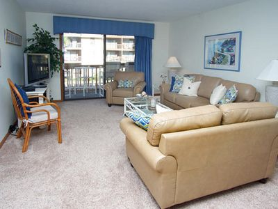 Photo for Anchorage II 205  Lovely 2 Bedroom Condo With Great Ocean Views and Outdoor Swimming Pool