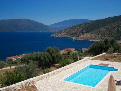 Photo for Villa Kandia 6 bedrooms with private pool and stunning sea view