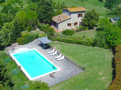 Photo for Fabbriche di Vallico Holiday Home, Sleeps 4 with Pool, Air Con and Free WiFi