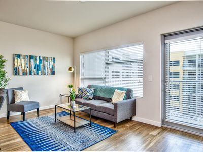 Photo for Lux Oasis w/ Pool + Balcony | Near Morean Arts Ctr