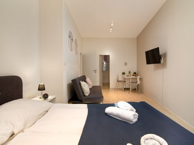 Photo for Simple, ideally located escape w/ free WiFi - minutes to Old Town Square!