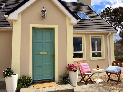 Photo for Luxury Irish coastal cottage near DunDonegal. June and September from £395 a we
