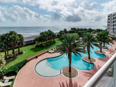 Photo for Spectacular waterfront luxury coastal condo with shared pools & hot tub!