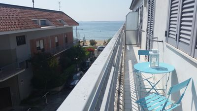 Photo for Charming apartment in front of the beach in Vindicio - Formia