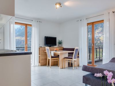 "Photo for Modern Apartment ""Hofschenke Pfeiftal Bergblick"" with Terrace, Garden & WLAN; Parking Available, One Dog Allowed"