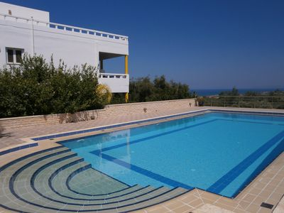 Photo for Let M&M Villa Welcome You To One Of The Most Beautiful Spots In Crete!
