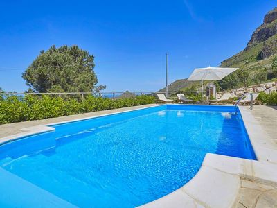 Photo for Panoramic Villa Belly with private pool and sea view
