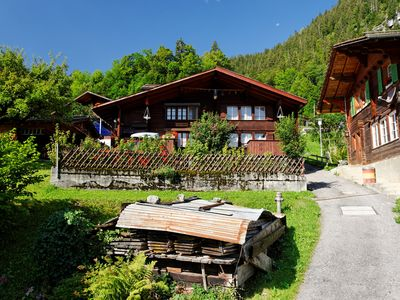 Photo for Chalet Daheim, the charming family chalet in the Swiss Alps