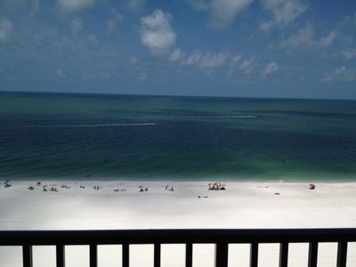 Photo for Open for Business!! Weekly Direct Beachfront view 2 bedroom sleeps 6