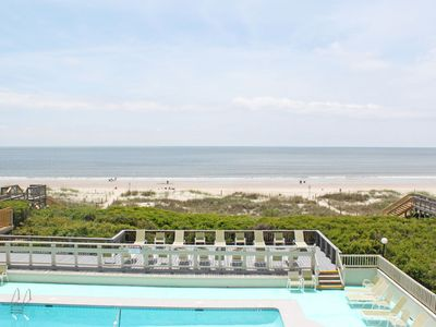 Photo for A Bit Closer To Heaven: 2 Bed/2 Bath Oceanfront Condo with Community Pool