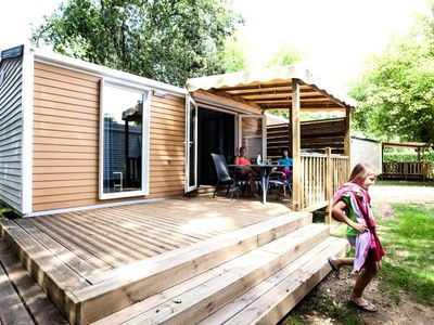 Photo for Camping La Clairière **** - Mobile Home O'Hara 3 Rooms 4 People