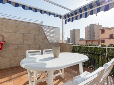 Photo for Beach Relax and Terrace apartment in Alhaurin de la Torre with WiFi, air conditioning, private terr…