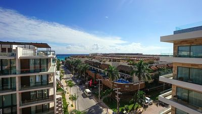 Photo for Magic Paradise by BRIC Vacation - 3 bedroom Penthouse steps from Mamita's Beach!