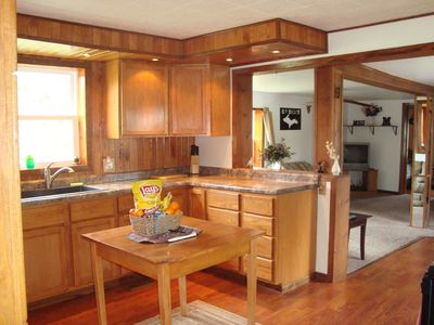 Photo for Cozy House with Lake Michigan Access and Boat Launch Across the Street