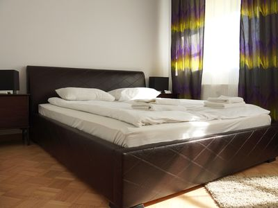 Photo for M20 apartment in Stare Miasto with WiFi & air conditioning.