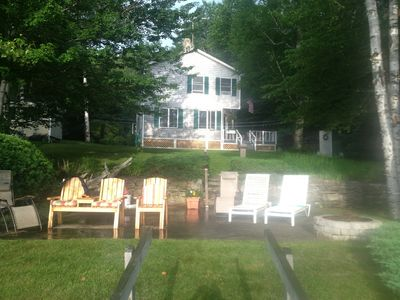 Photo for New to the rental market! Lakefront Summer House on Webber Pond