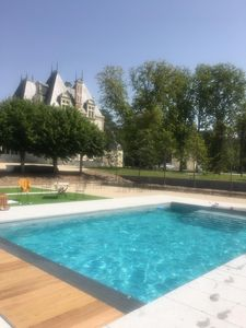Photo for Luxury house / access to swimming pools and castle park