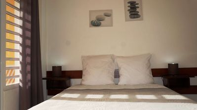 Photo for Résidence Macabou with swimming pool, 12 apartments for 38 people, 5 minutes walk from the beach