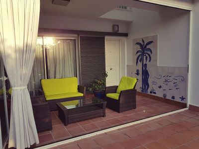Photo for Beautiful house urb. Private 3 storey garden, wifi, 7 min town and 5 from the beach