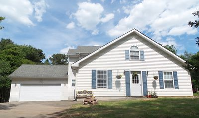 Photo for Gorgeous 4 Bdrm House In Poconos, Close To Water Parks Ski Resorts & Raceway