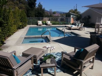 Newly Renovated With Pool, Mountain Views & Post Rose Parade Float Access.