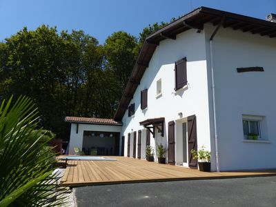 Photo for Large house with pool in the Basque Country