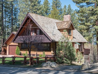 Photo for Spectacular Heavenly Valley Cabin Minutes from skiing and downtown Casinos