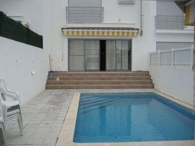 Photo for 3 bedroom villa with pool and jacuzzi