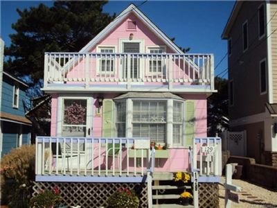 Photo for Ocean Block Cottage Steps to the Beach in Ship Bottom walking distance to shops, pubss, resturants  137301