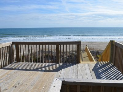 Photo for Oceanfront Cottage with Private Beach Access