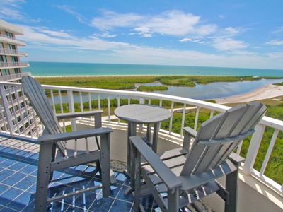 Photo for Beachfront Gated Community with Stellar Views of Beach & Island