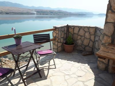 Photo for Secluded fisherman's cottage Cove Prnjica (Pag) - 12620