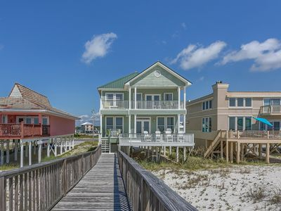 Photo for Fernhill By The Sea Gulf Shores Gulf Front Vacation House Rental - Meyer Vacation Rentals
