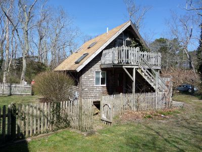 "Photo for The Best of Brewster Cape Cod: Cottage ""on"" the Cape Cod Rail Trail 2BD/1.5 Bath"