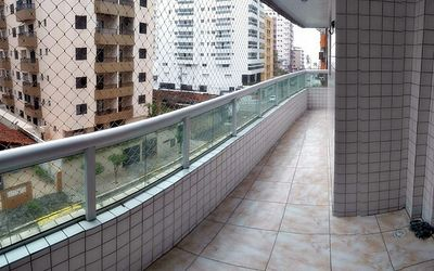 Photo for Carnival make your reservation now! Balcony with Barbecue, 200 meters from the beach