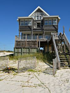 Photo for Escape to the Beach! Beautiful Beach Front Home! 5 beds/4.5 baths!