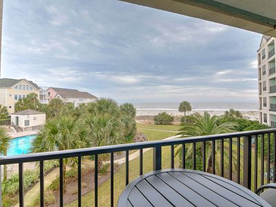 Photo for OCEANFRONT Views, Modern and Updated, Community Pool!