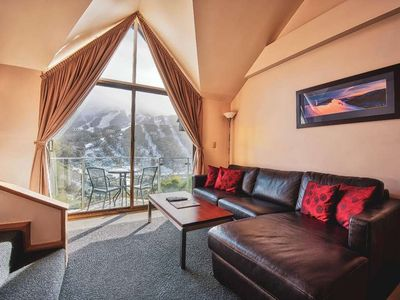 Photo for Balcony apartment with loft and sweeping views
