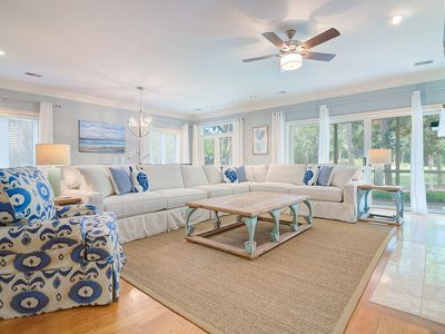 Photo for Great Seabrook Island Home - Modern & Updated - Pet Friendly - Club Access Free