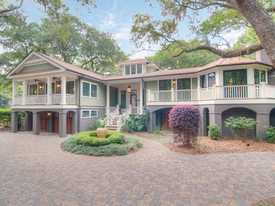 Photo for Spacious, waterfront home w/lagoon & golf course views - near beach