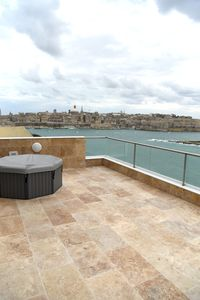 Photo for Tigne Point Sea View 11 apartment in Sliema with WiFi, private terrace, jacuzzi & lift.