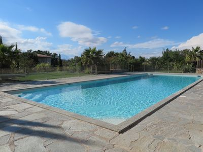 Photo for Luxury apartment air conditioned 2 bedrooms in residence with pool
