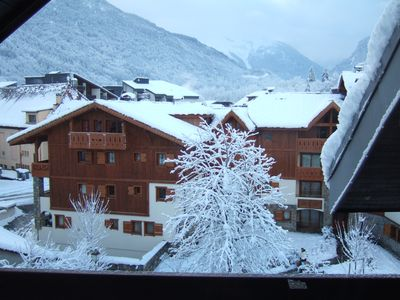 Photo for Well equipped apartment with wonderful views - edge of town nearest Telecabine.