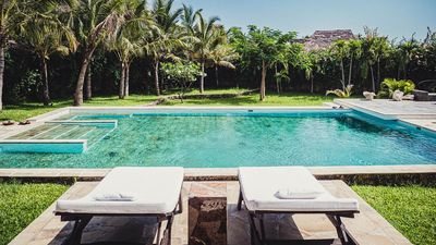 Photo for Jambo Villa with chef and pool - Beach at 500 m - Wifi - For couples and families