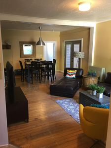 Photo for Heart of Downtown Boho Bungalow, family home smack dab in the middle of downtown