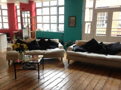 Photo for Large Textile Loft Two bedrooms in Shorditch