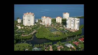 11th Floor Naples Cay Beach Rental! Gorgeous Prime End Unit at the Club.